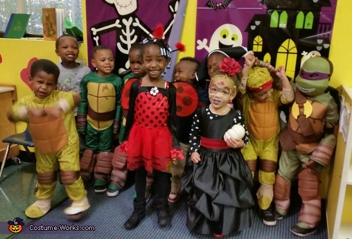 Halloween class party pic, Spooky Princess Costume