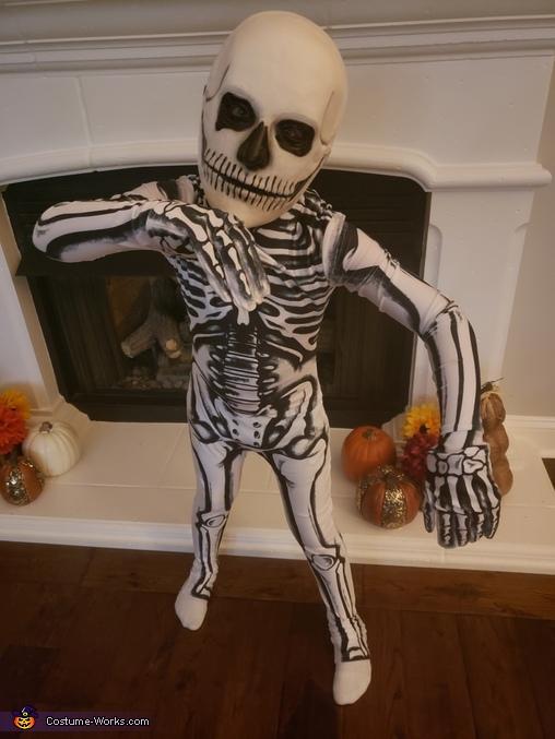 Spooky Scary Skeleton Costume