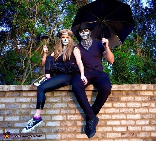 Spooky Skeleton Soul Mates Costume