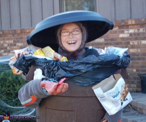 Spooky Trash Halloween Costume