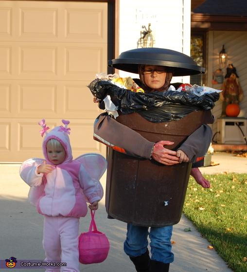 Spooky Trash Costume
