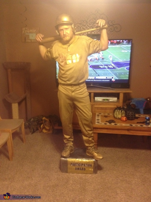 Baseball Trophy, Sports Trophies Couples Costume