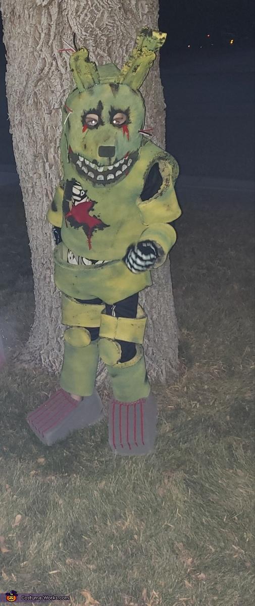Springtrap Homemade Costume