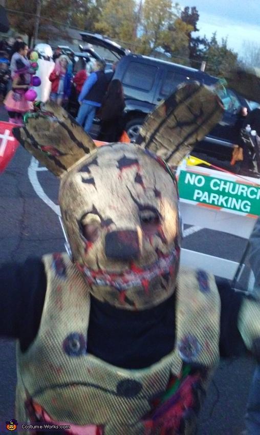 Close up Mask, Springtrap Costume