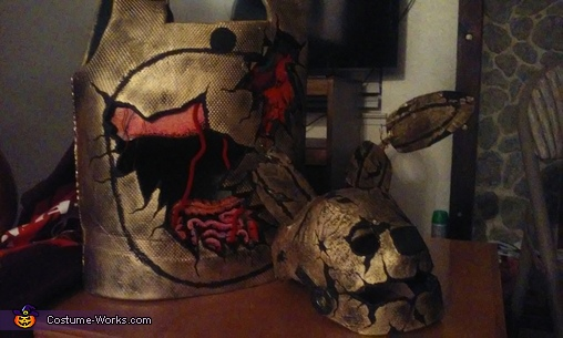Mask and body, Springtrap Costume