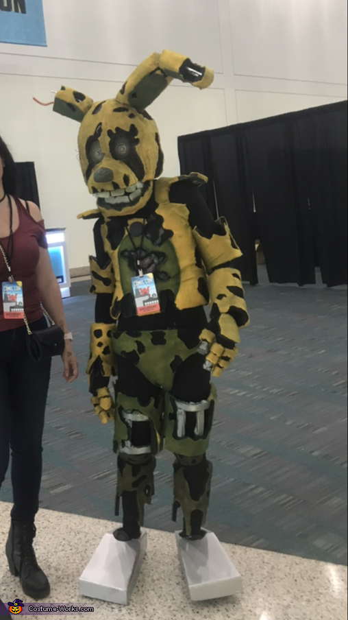 Springtrap Costume Photo 3 3