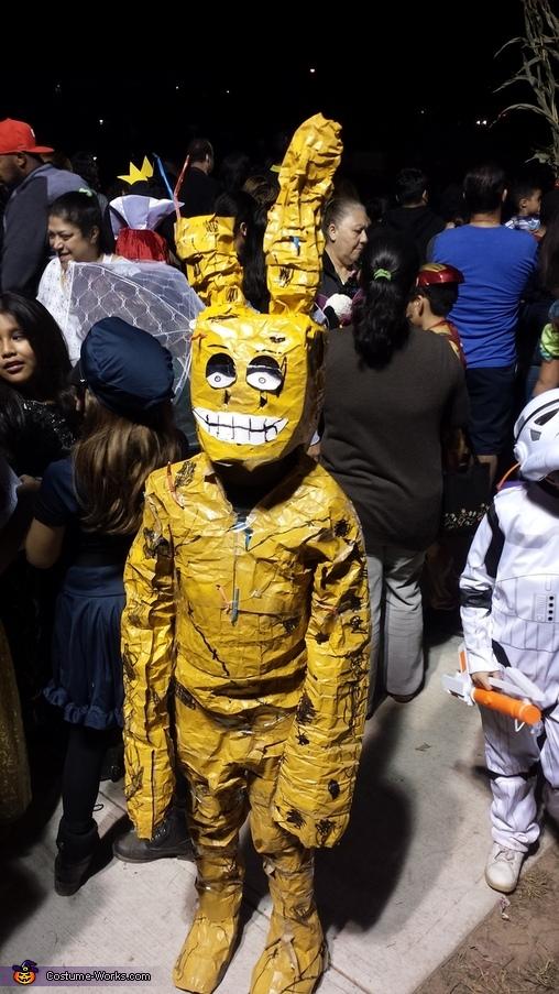 Springtrap Bunny Homemade Costume