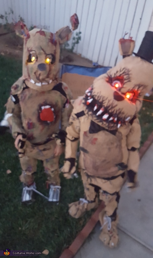 Springtrap & Nightmare Freddy Costume