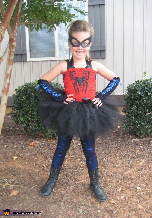 Spunky Spider Girl Costume