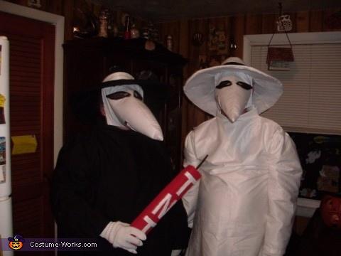 Spy vs. Spy Homemade Costume