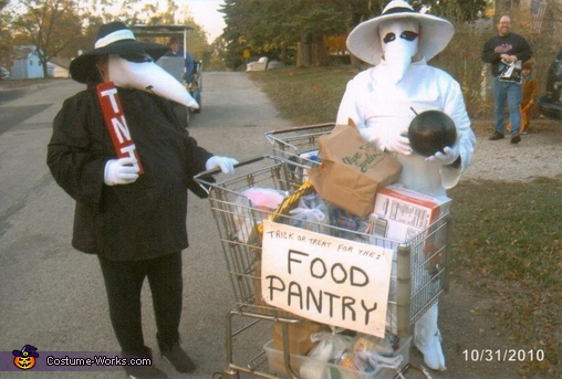 Spy vs. Spy Homemade Costume