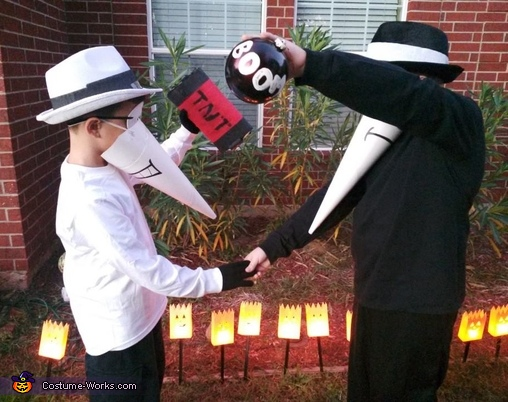 Spy vs. Spy Costume