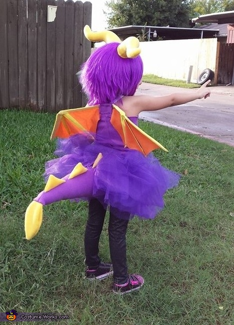 Spyro the Dragon Homemade Costume