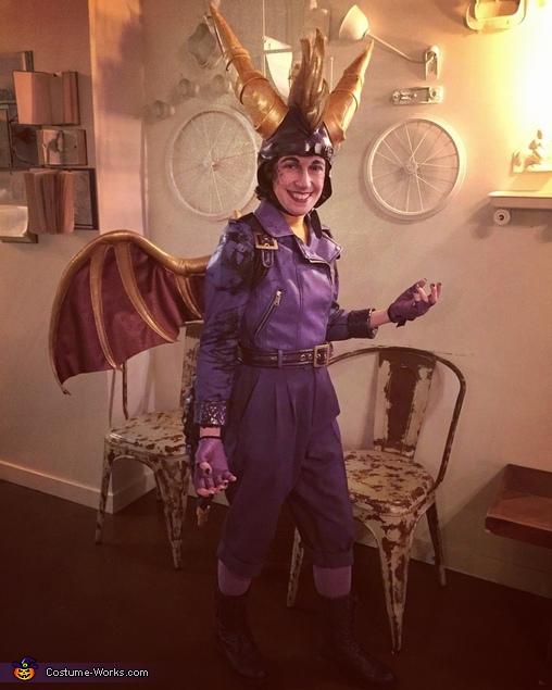 Spyro the Dragon Costume