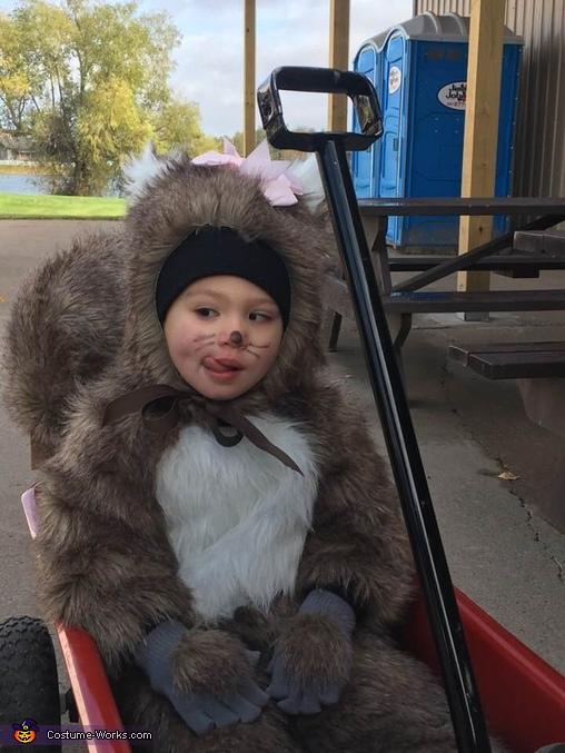 Squirrel Homemade Costume