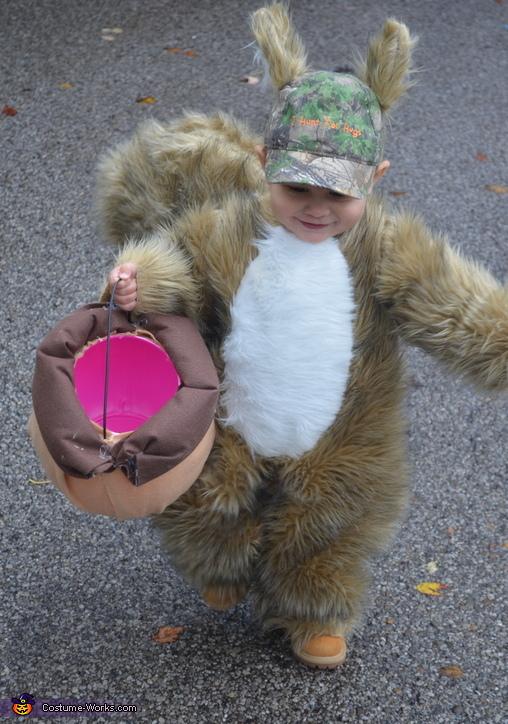 SquirrelBoy and his acorn, Squirrel Boy Costume