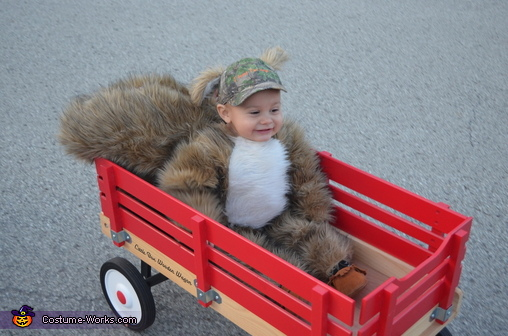 Trick or Treatin' Squirrel, Squirrel Boy Costume