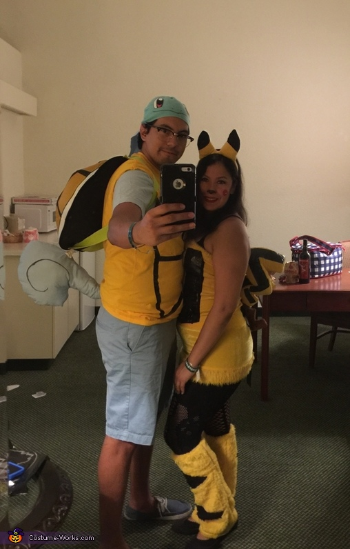 Squirtle and Pikachu Costume