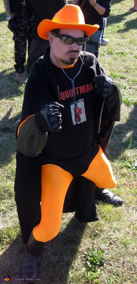 Squirtman Costume
