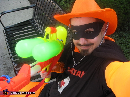 squirtman is your friend, Squirtman Costume