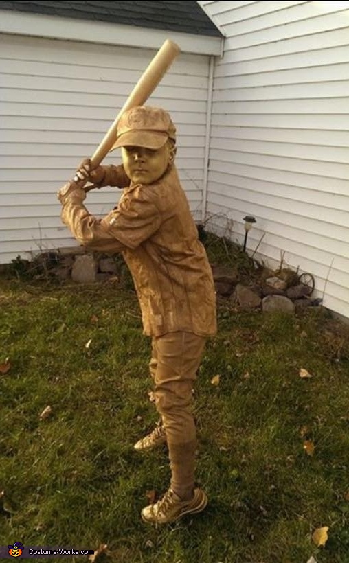 Stan Musial Statue Costume