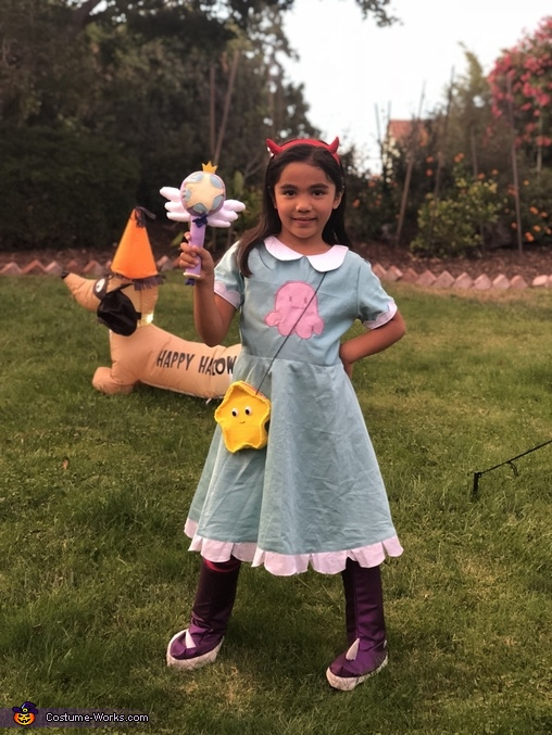 Star Butterfly Homemade Costume