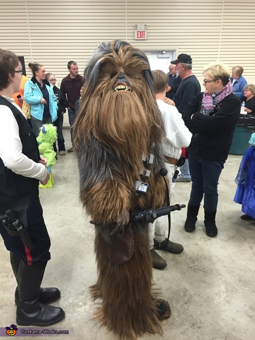 Chewbacca, Star Wars Costume