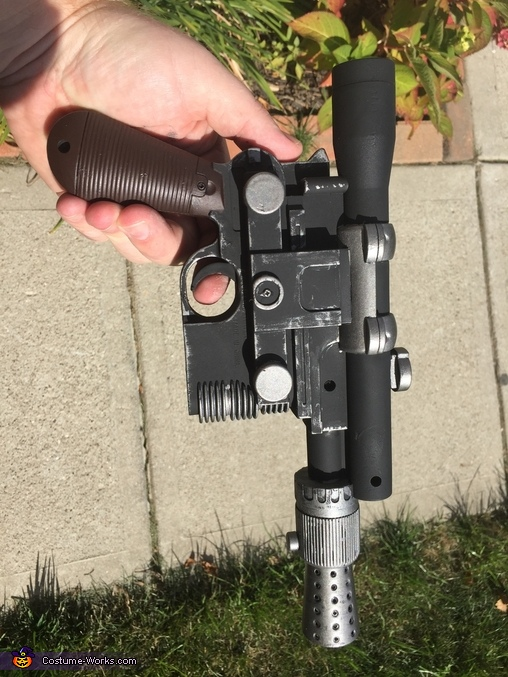 Han Blaster, Star Wars Costume