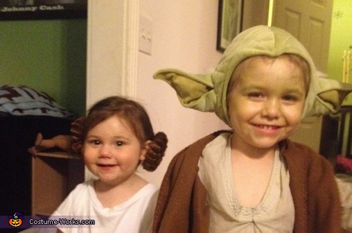 Yoda and Leia, Star Wars Costume