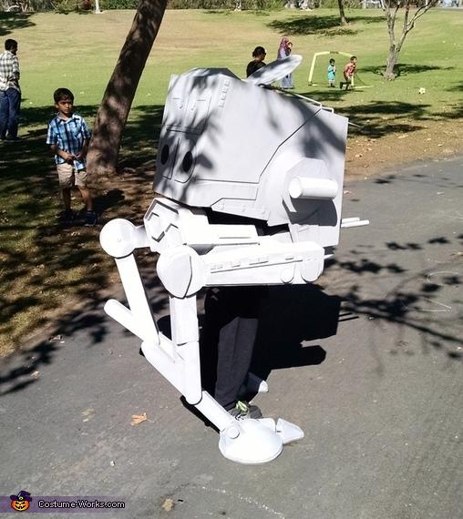 Rear, Star Wars AT-ST Walker Costume