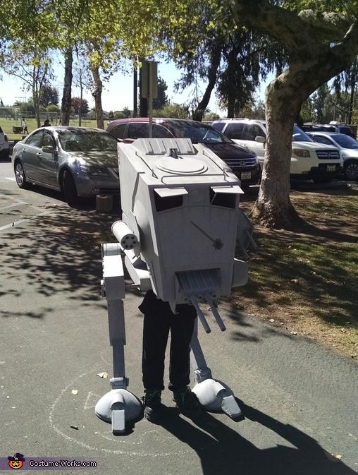 Close up, Star Wars AT-ST Walker Costume
