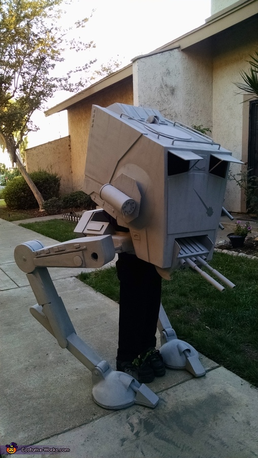 Walking walker, Star Wars AT-ST Walker Costume