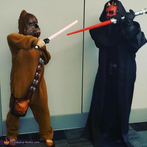 Darth maul battle, Darth Maul Costume