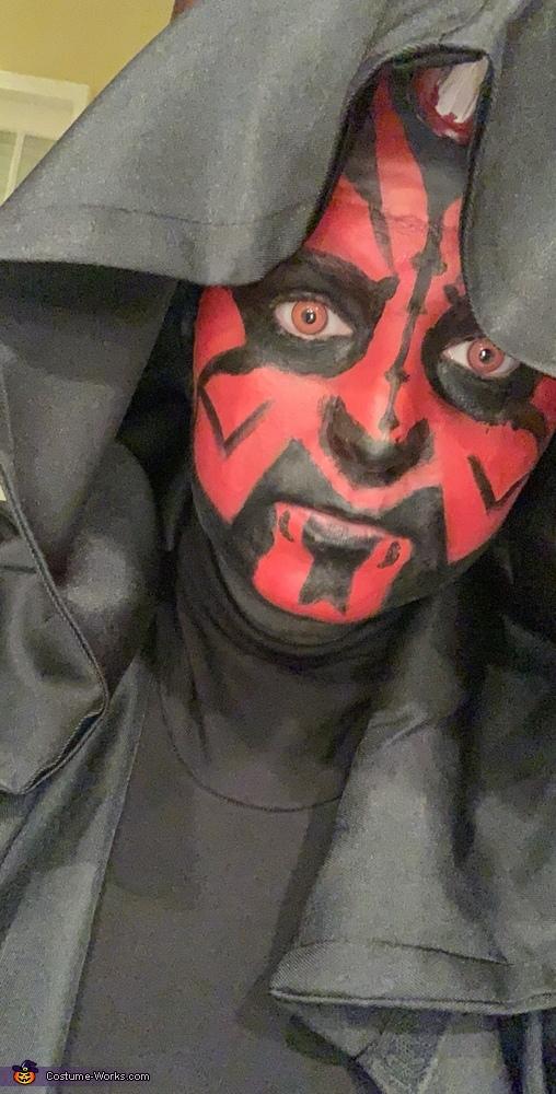 Darth maul red eyes, Darth Maul Costume