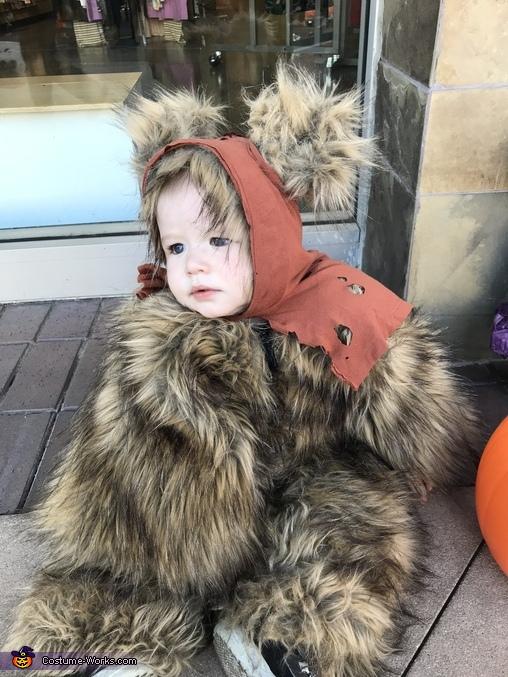 First Trick-or-Treat, Star Wars Ewok Costume