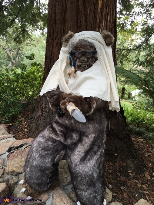 Ewok2, Star Wars Ewok Costume
