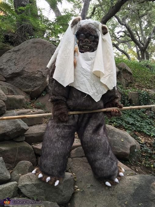 Ewok3, Star Wars Ewok Costume