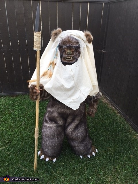 Ewok5, Star Wars Ewok Costume
