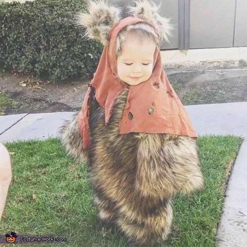 Costume test run!, Star Wars Ewok Costume