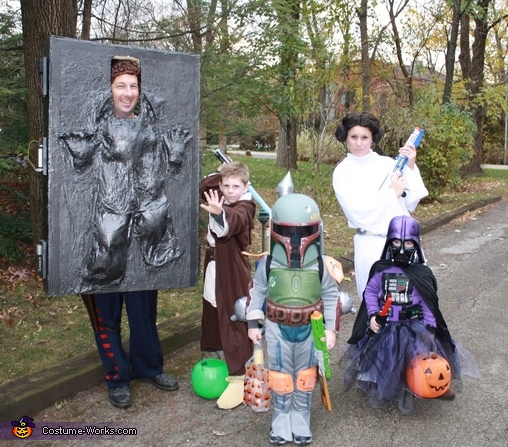 Star Wars Halloween Costumes.Star Wars Family Costume