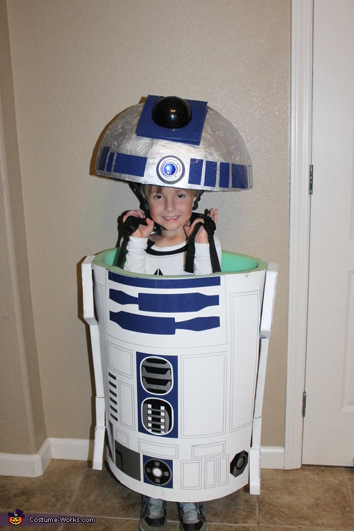 R2D2, Star Wars Family Costume