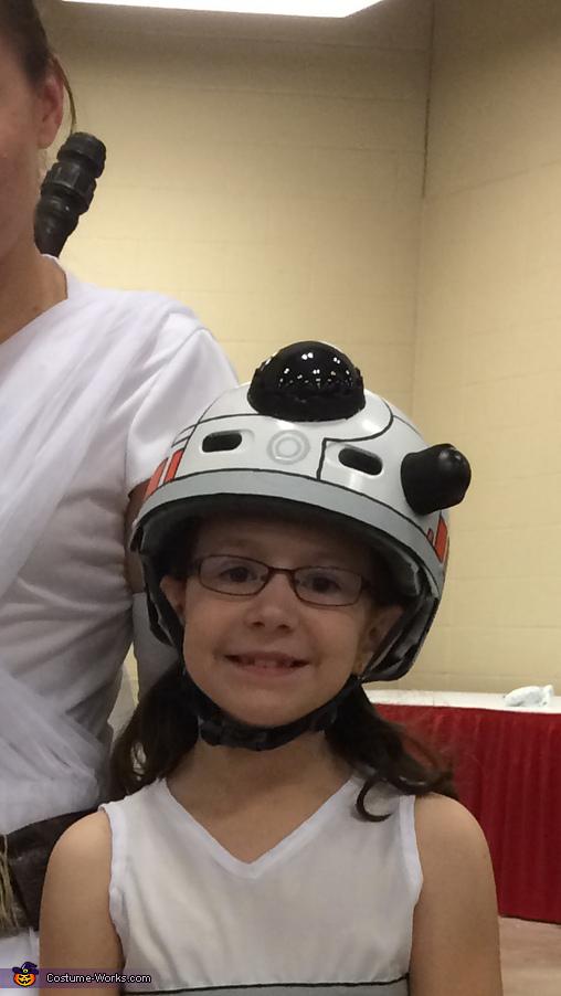 BB-8 Helmet, Star Wars Family Costume