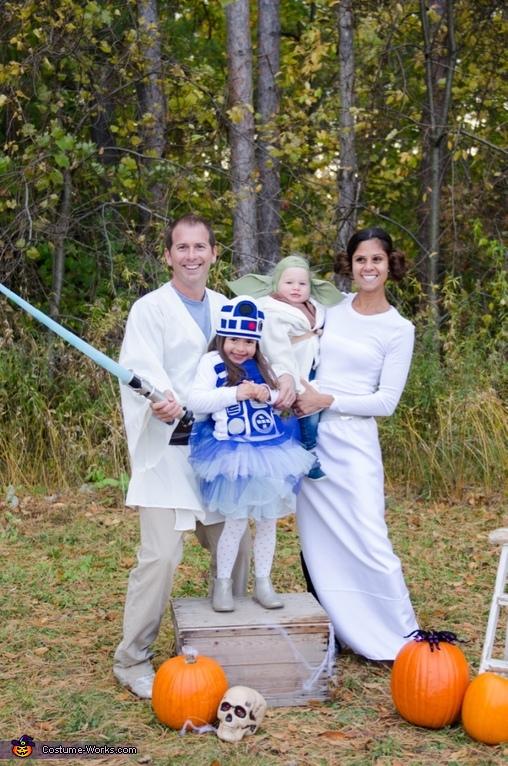 Star Wars Family!, Star Wars Family Costume