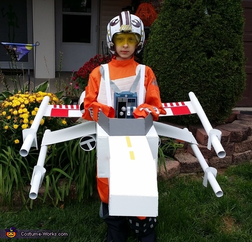 Take Flight!, Star Wars Luke Skywalker Costume