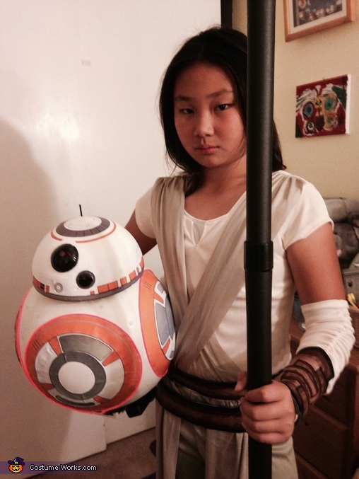 Star Wars Rey & BB-8 Costume