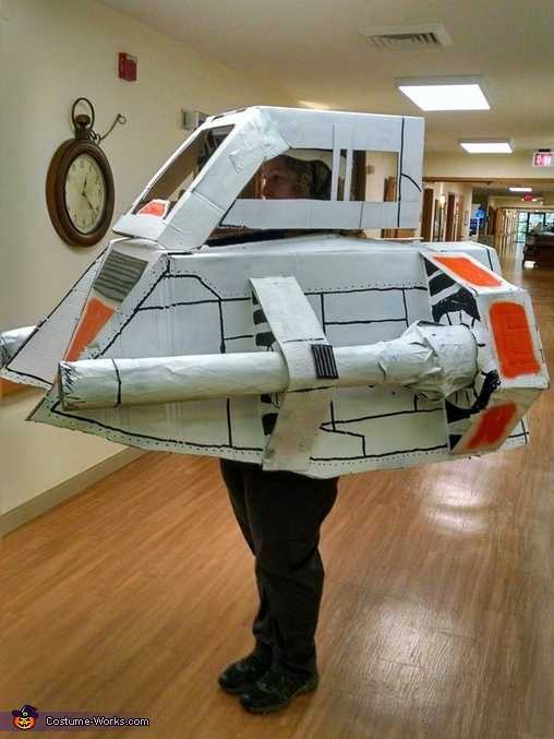 Star Wars Snow Speeder Costume