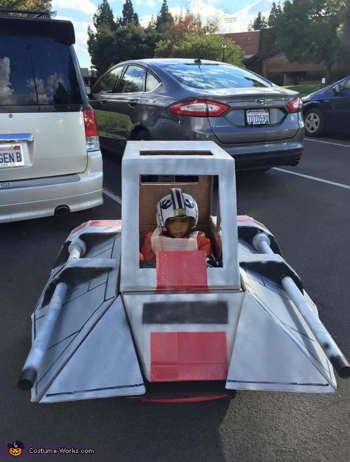 Star Wars Snowspeeder Costume