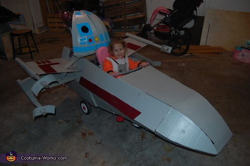 X-Wing Harper, Star Wars Star Fighters Costume