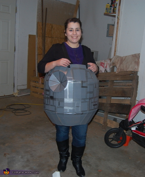 Death Star Maddison, Star Wars Star Fighters Costume