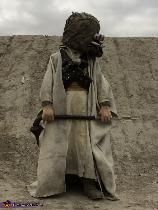 Star Wars Tusken Raider Homemade Costume